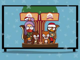 Weihnachtszeit mit den Glatters